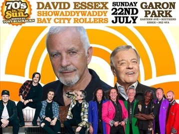 70s In The Sun : David Essex, Bay City Rollers, Showaddywaddy, Tony Blackburn, John Watson picture