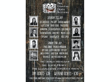 The Comedy Crate Festival: Kiri Pritchard-McLean, Marlon Davis, Angela Barnes, Tom Stade, Paul Sinha picture