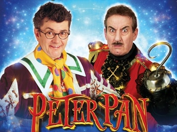 Peter Pan: Joe Pasquale, John Challis picture