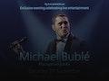 Michael Bublé event picture