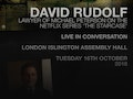 In Conversation With David Rudolf event picture