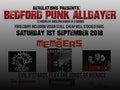 Bedford Punk Alldayer: Anti Nowhere League, Last Resort, The Members event picture