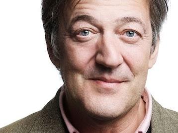 Stephen Fry artist photo
