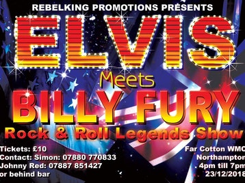 Elvis meets Billy Fury: Simon Patrick, Johnny Red picture