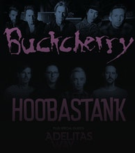 Buckcherry / Hoobastank Co Headline Tour artist photo