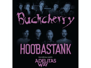 Buckcherry / Hoobastank Co Headline Tour picture