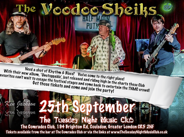 The Tuesday Night Music Club: Voodoo Sheiks picture