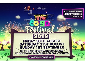 Back To The 80's & 90's Festival: Tony Hadley, The Vengaboys, Heather Small, Nik Kershaw, B*Witched, Katrina Leskanich (Katrina and The Waves), The Doctor (Doctor And The Medics), Kelly Llorenna, D:Ream, Jive Bunny, Baby D, East 17, 911, A1, Shola Ama, S Club Party, Navi As Michael Jackson, Video Geeks, DJ Sammy, Sash!, Alice DJ, Ratpack, Pat Sharp, Brandon Block, General Levy, Andy Farley, James Dean, Gio, Rich Halpin, Darren Pearshouse picture
