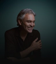 Andrea Bocelli artist photo