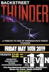 Flyer thumbnail for Backstreet Thunder