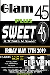 Flyer thumbnail for Glam 45 PLUS Sweet 45