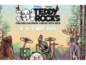 Teddy Rocks 2019: Our Hollow Our Home, Dream State, Parting Gift, I, The Mapmaker, As Flames Rise, Oas-Is, The Lounge Kittens, Stiff Bizkit, Stone Groove, Riff Mission, Cherry Lotus, Quinns Quinney, Pantheatrix, Soulhole, Clockwork Carousel, Hope And The New Flower Generation, Trevann Fanthorpe, The Darkness, Phil Campbell and The B*stard Sons, The Dirty Youth, Press To MECO, Seán McGowan, Black Orchid Empire, Saints of Sin, The Bottom Line, The Virginmarys, Wolfjaw, Youth Killed It, Raiders, Wolf Culture, Death By Shotgun, Dookie, Know Your Enemy, Tenacious G, Blinked 182, Sinful Maggie, The Gusettes, Pretty Little Enemy, Trip Wizard, Wave Chase, The Stayawakes, Silk Bullets, The Bomo Swing, Disco's Out (Murder's In), Hoola Cru, Mischa & His Merry Men, Joel Fry, Psycho-Acoustic Goat, Burg & The Back Porch Band, Danny Adams, Edd Bleach, Olly Hopper-Pay, Lagan / Verbal Remedies, Andy Stock, The Zutons, Toploader, Fatherson, Bang Bang Romeo, Bloxx, The Franklys, San.Marlo, Louis Berry, Greywind, Cold Years, Towers, Bird Shoes, Naked Sunday, Foo Forgers, Lionstar, Black Water County, The Decatonics, Last Resort, Stitch, Wavebye, The Wonky Donkeys, Toxic Fruitcake, Laika, Matt Black, Mother Ukers, The Two Man Travelling Show, Sixteen String Jack, Si Genaro, Lagan / Verbal Remedies, Shawn Gary Palmer, Chris Payn, 27 Days, Ben Jones, Moonbeams, Shannon White, Paris Youth Foundation picture
