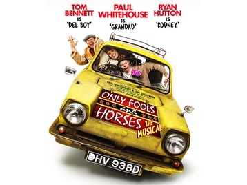 Only Fools And Horses - The Musical: Paul Whitehouse, Tom Bennett, Ryan Hutton picture