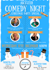 Flyer thumbnail for Alcester Comedy Club Xmas Special: Paddy Lennox, Mike Cox, Pete Teckman, Tony Cowards