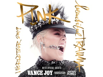 Beautiful Trauma World Tour 2019: P!NK, Vance Joy, KidCutUp, Bang Bang Romeo picture