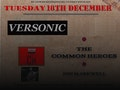 A Right Old Christmas Carry On - In Aid of the Alzheimer's Society: Versonic, The Common Heroes, Jon Markwell event picture