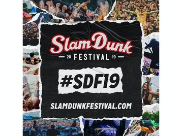 Slam Dunk Festival 2019: All Time Low, Bullet For My Valentine, NOFX, New Found Glory, Bad Religion, Glassjaw, Less Than Jake, Simple Plan, The Menzingers, Atreyu, Millencolin, Lagwagon, Waterparks, The Interrupters, Story Of The Year, Gallows, The Bronx, Cancer Bats, The Get Up Kids, Saves The Day, Real Friends, Turnstile, Mad Caddies, Anti-Flag, Silverstein, Knocked Loose, Seaway, Trophy Eyes, The Word Alive, iDKHOW, WSTR, Tiny Moving Parts, Milk Teeth, Angel Dust, The Bombpops, Pagan, Plain White T's, HelloGoodbye (US), Touché Amoré, Tigers Jaw, Microwave, Wallflower, Lights, Wage War, Employed To Serve, Our Hollow Our Home, The Plot In You, Neck Deep, As It Is, Boston Manor, A Loss For Words, grandson, Press To MECO, Story Untold, Between You & Me, SHVPES, Kublai Khan, Cruel Hand, Justin Pierre, Liam Cromby, Chas Palmer Williams, Lizzy Farrell, Rob Lynch, Hot Milk, TiLLie, John Floreani, Modestep picture