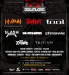 Flyer thumbnail for Download 2019: Def Leppard, Slipknot, Tool, Slash featuring Myles Kennedy and The Conspirators, Whitesnake, Rob Zombie, Trivium, Carcass, Die Antwoord, Me First and The Gimme Gimmes & more
