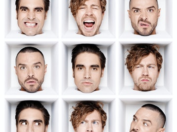 Busted artist photo