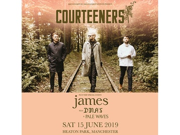 Courteeners, James, DMA'S, Pale Waves picture