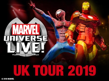Marvel Universe LIVE! artist photo
