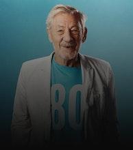 Ian McKellen artist photo