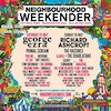 Flyer thumbnail for Neighbourhood Weekender : George Ezra, Primal Scream, You Me At Six, Nothing But Thieves, The Twang, Tom Grennan, The Hunna, Maximo Park, Embrace, Pale Waves & more
