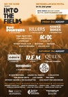 Flyer thumbnail for Into The Fields Music Festival 2019: Fu Fighters, The Killaz UK, Resurrection Stone Roses, Renegades, Black Ice, Detroit Social Club, The Skatoons, Oasisjam, Work In Progress, Hollow Legs & more