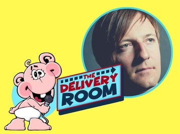 The Delivery Room: Andrew Maxwell, Radu Isac, Markus Birdman, Phil Nichol, Kate Smurthwaite, Philip Simon, James Loveridge, Sarah Callaghan, Russell Hicks picture