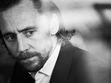 Tom Hiddleston artist photo