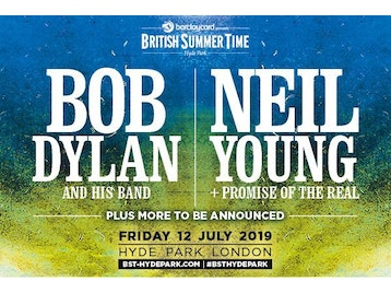 Barclaycard presents British Summer Time Hyde Park 2019: Bob Dylan, Neil Young & Promise Of The Real, Laura Marling, Cat Power, Sam Fender picture