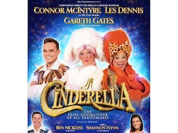 Cinderella: Les Dennis, Connor McIntyre, Gareth Gates picture