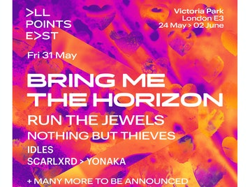 All Points East Festival 2019: Bring Me The Horizon, Run The Jewels, Nothing But Thieves, Idles, Scarlxrd, Yonaka picture