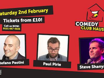 Comedy Club Haus: Paul Pirie, Steve Shanyaski, Stefano Paolini picture