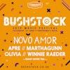 Flyer thumbnail for Bushstock Festival 2019: Matt Corby, Rosie Lowe, Laurel, Balcony, Bene, Novo Amor, Tom Rosenthal, Jordan MacKampa, Delilah Montagu, Rhys Lewis & more