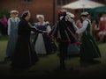 Tudor Dancing in the Garden - NGS Open Days event picture