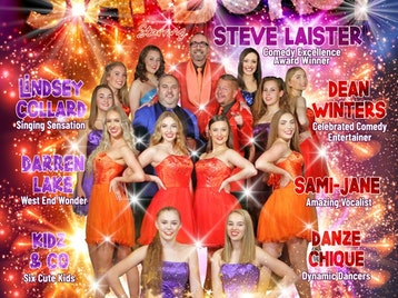 Starburst: Steve Laister, Lindsey Collard, Dean Winters, Darren Lake, Sami-Jane Slater, Danze Chique picture