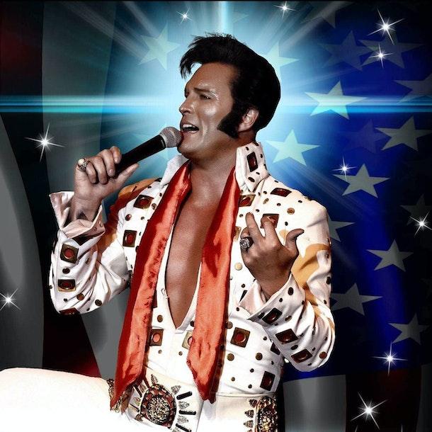 Simon Patrick as Elvis Tour Dates