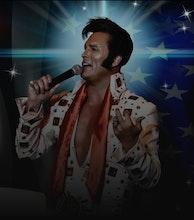 Simon Patrick as Elvis artist photo
