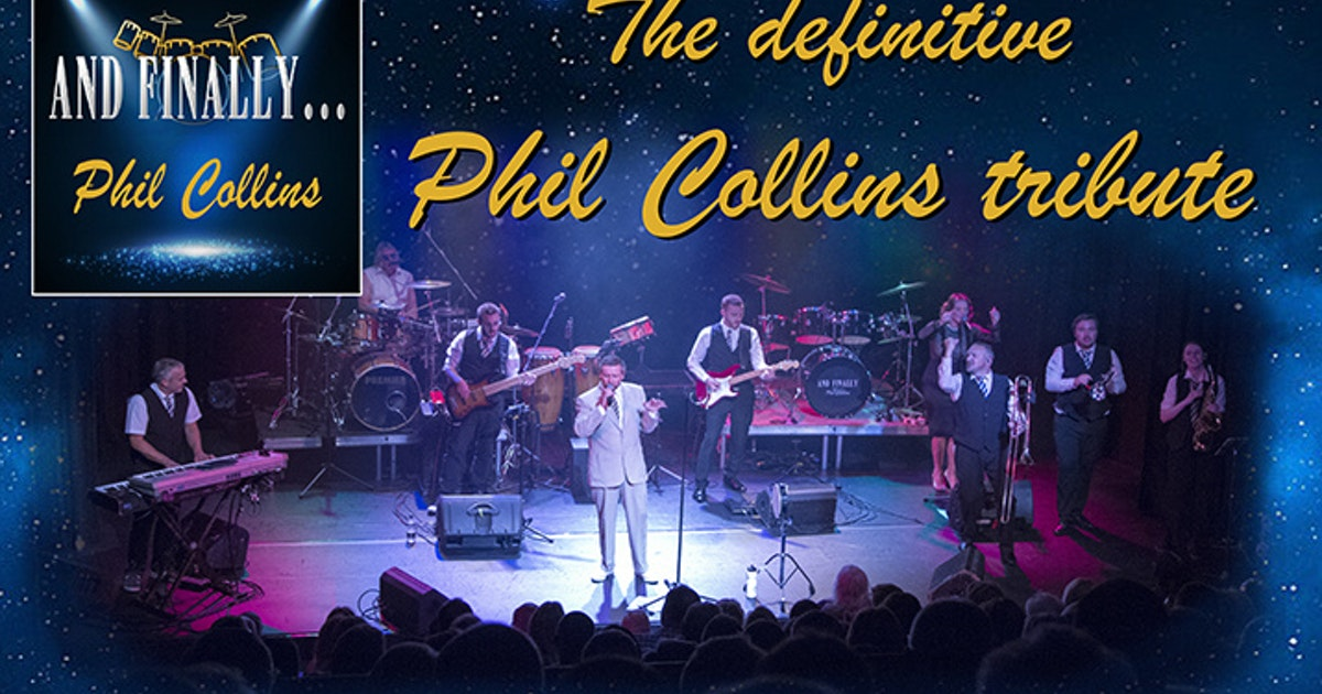 And Finally Phil Collins - Top UK Tribute