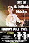 Flyer thumbnail for David Live