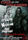 Flyer thumbnail for Tour of the Valkyries Night Three: Novacrow, The Loved And Lost, The Wild Strays, Devil's Playground