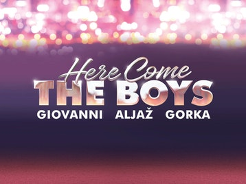 Here Come The Boys: Giovanni Pernice, Aljaz Skorjanec, Gorka Marquez picture