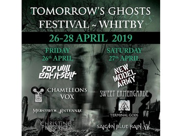 Tomorrow's Ghosts Festival: Pop Will Eat Itself, ChameleonsVox, Mercurys Antennae, Christine Plays Viola, New Model Army, Sweet Ermengarde, Terminal Gods, Saigon Blue Rain picture