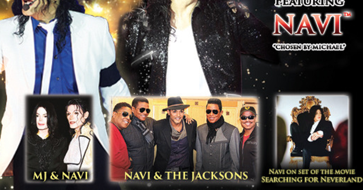 Navi As Michael Jackson Rickmansworth Tickets, Watersmeet Theatre