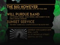 SongSmith: The Big However, Will Purdue, Sunset Service event picture