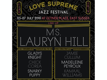 Love Supreme Jazz Festival 2019: Ms. Lauryn Hill, Jamie Cullum, Gladys Knight, Snarky Puppy, Chick Corea, Madeleine Peyroux, Kamaal Williams picture