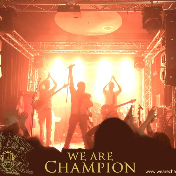 We Are Champion - A Tribute To Queen Tour Dates