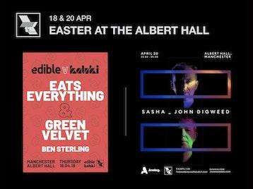 Easter At The Albert Hall: Sasha, John Digweed picture