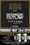 Flyer thumbnail for Doomsday Outlaw, Stevie R. Pearce and the Hooligans, Silk Road